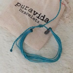 {SOLD} NEW Pura Vida Pacific Blue Bracelet